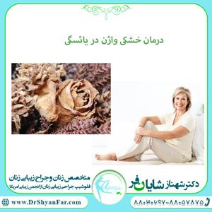 درمان خشکی واژن در یائسگی